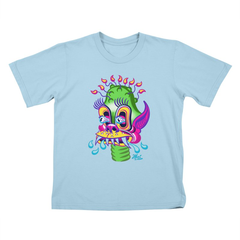 """'Leave it to Beaver' Monster Shirt! """"Alan"""" version! Kids T-Shirt by Mitch O'Connell"""