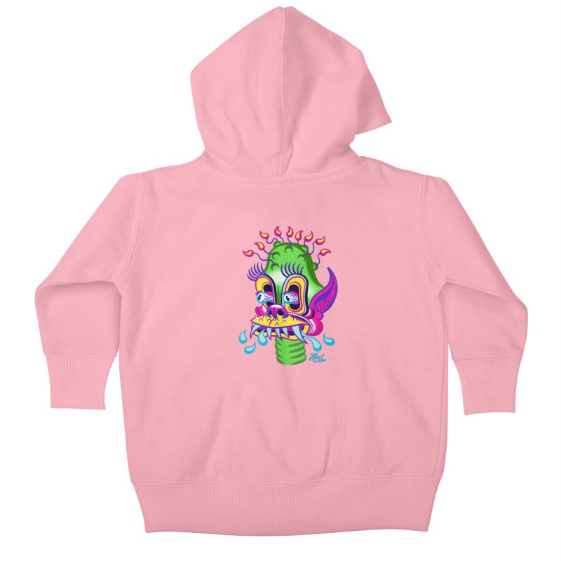"'Leave it to Beaver' Monster Shirt! ""Alan"" version! Kids Baby Zip-Up Hoody by Mitch O'Connell"