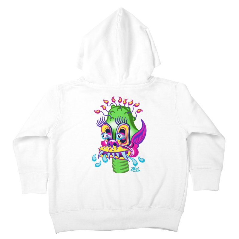 """'Leave it to Beaver' Monster Shirt! """"Alan"""" version! Kids Toddler Zip-Up Hoody by Mitch O'Connell"""