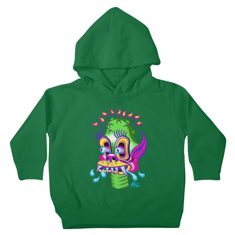 "'Leave it to Beaver' Monster Shirt! ""Alan"" version! Kids Toddler Pullover Hoody by Mitch O'Connell"