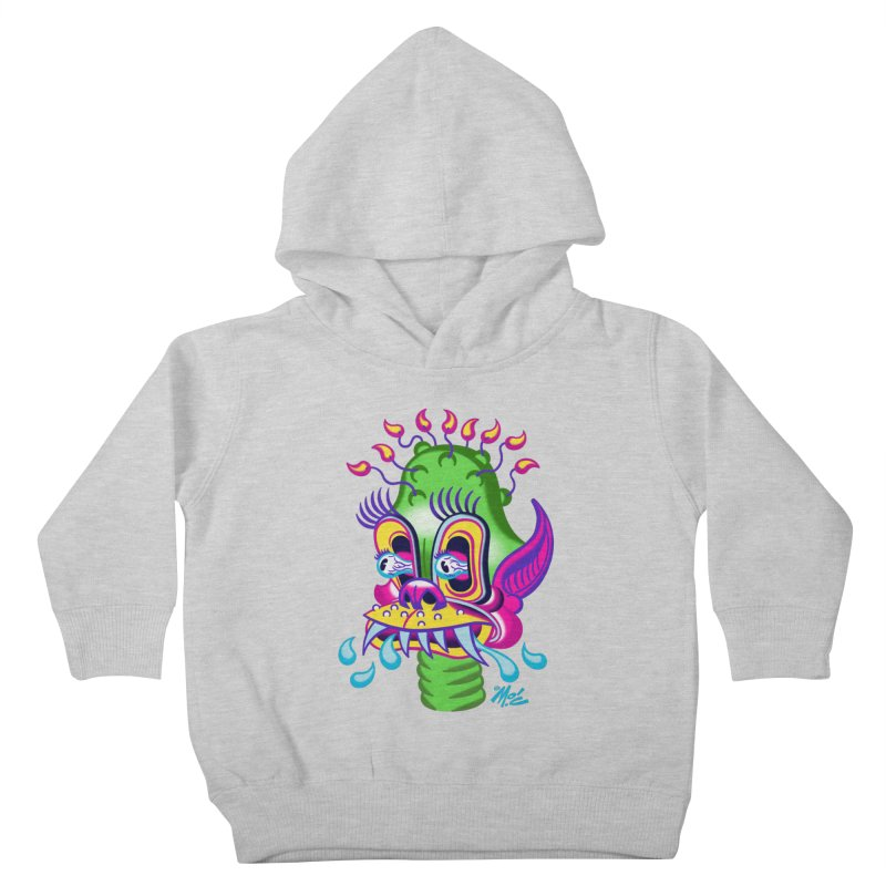 """'Leave it to Beaver' Monster Shirt! """"Alan"""" version! Kids Toddler Pullover Hoody by Mitch O'Connell"""