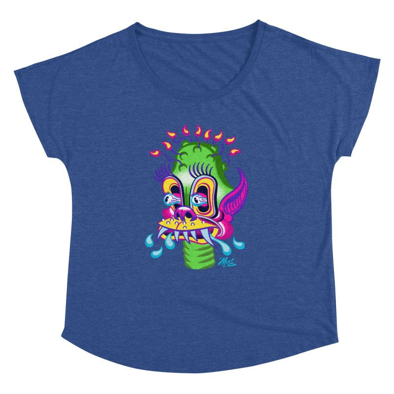 "'Leave it to Beaver' Monster Shirt! ""Alan"" version! Women's Dolman Scoop Neck by Mitch O'Connell"