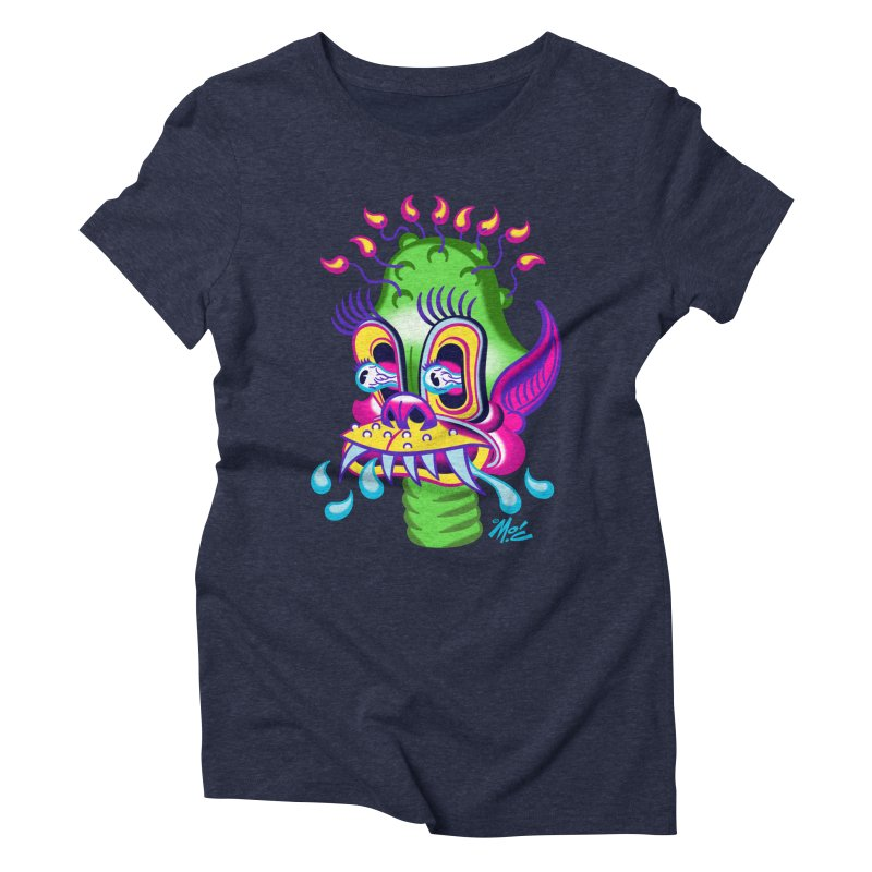 """'Leave it to Beaver' Monster Shirt! """"Alan"""" version! Women's Triblend T-Shirt by Mitch O'Connell"""
