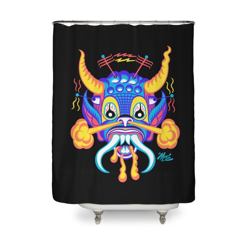 "'Leave it to Beaver' Monster Shirt! ""Richard"" version! Home Shower Curtain by Mitch O'Connell"