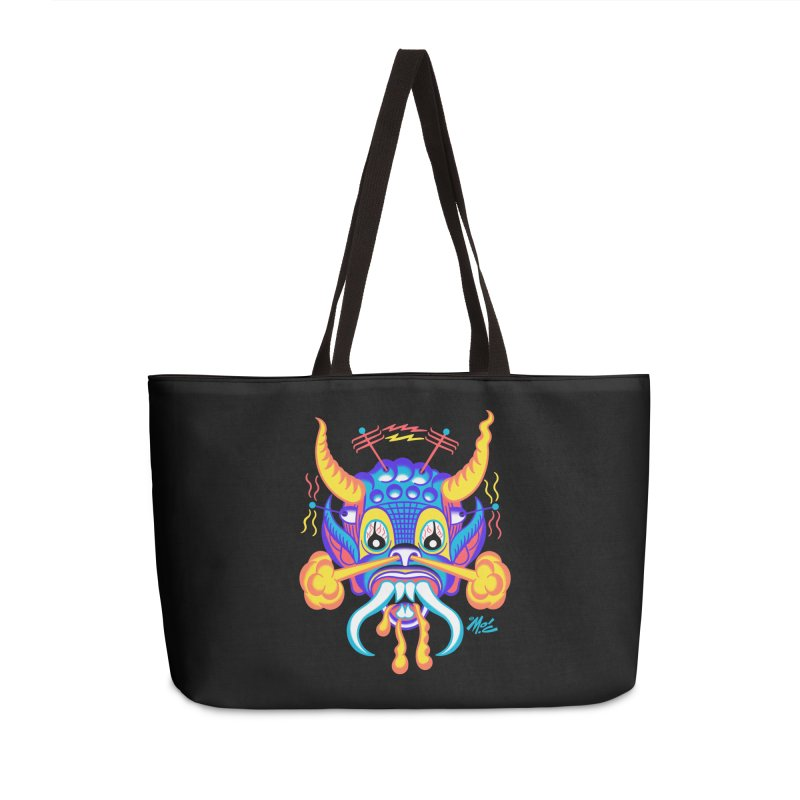"""'Leave it to Beaver' Monster Shirt! """"Richard"""" version! Accessories Weekender Bag Bag by Mitch O'Connell"""
