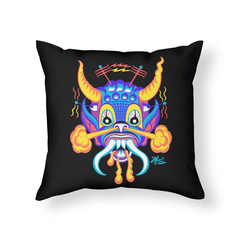 "'Leave it to Beaver' Monster Shirt! ""Richard"" version! Home Throw Pillow by Mitch O'Connell"
