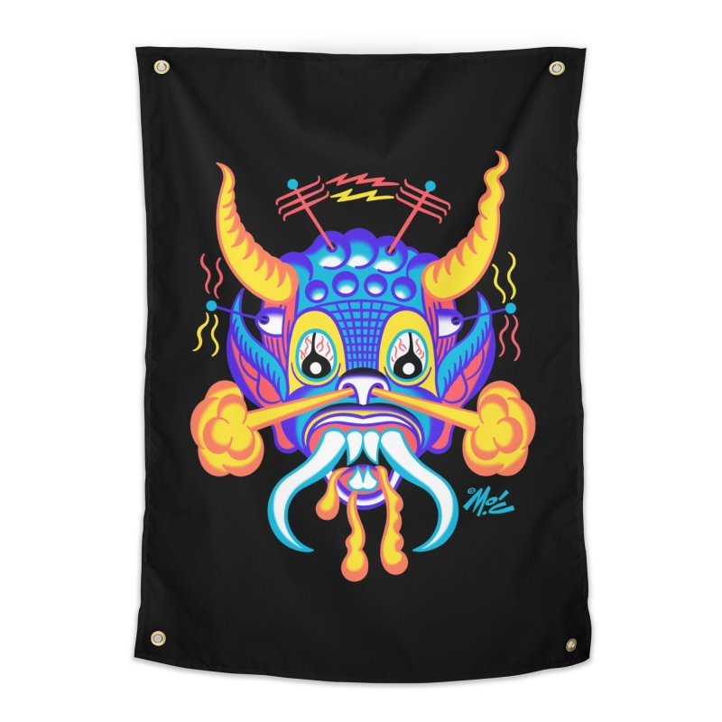 """'Leave it to Beaver' Monster Shirt! """"Richard"""" version! Home Tapestry by Mitch O'Connell"""