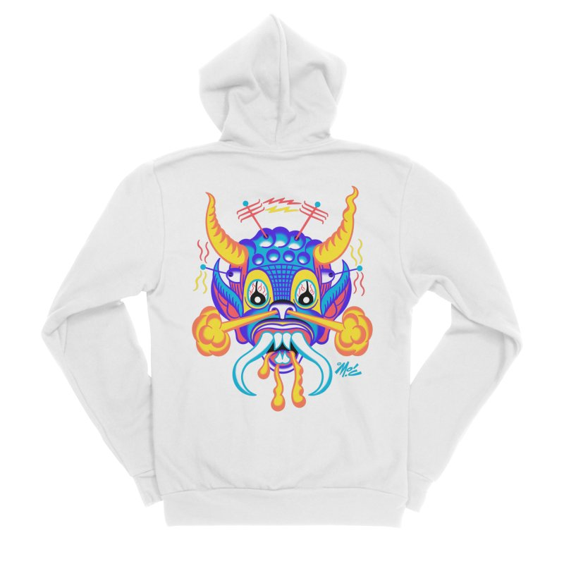 """'Leave it to Beaver' Monster Shirt! """"Richard"""" version! Men's Sponge Fleece Zip-Up Hoody by Mitch O'Connell"""