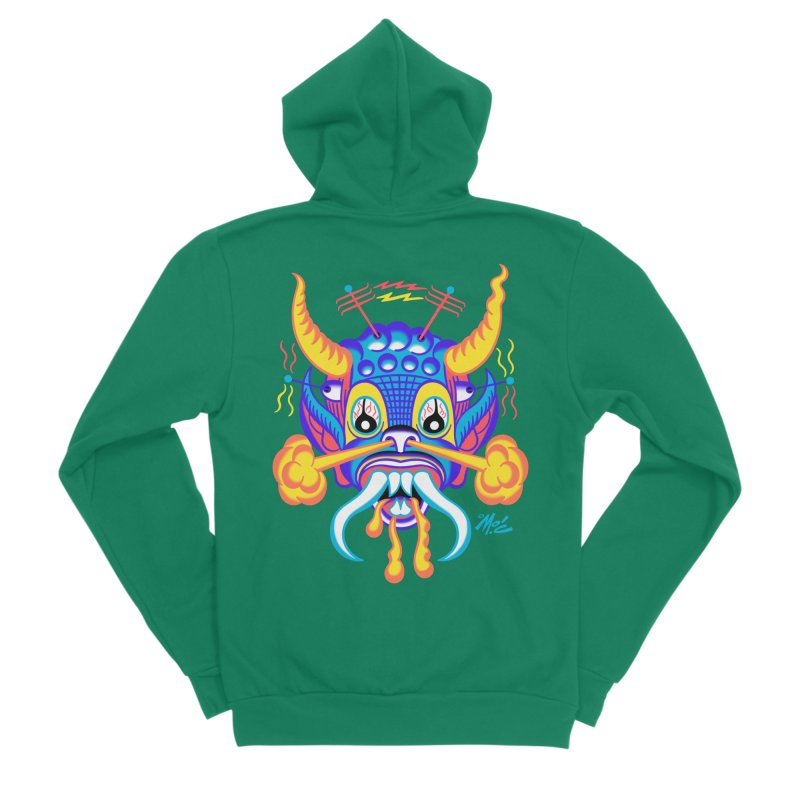 "'Leave it to Beaver' Monster Shirt! ""Richard"" version! Men's Sponge Fleece Zip-Up Hoody by Mitch O'Connell"