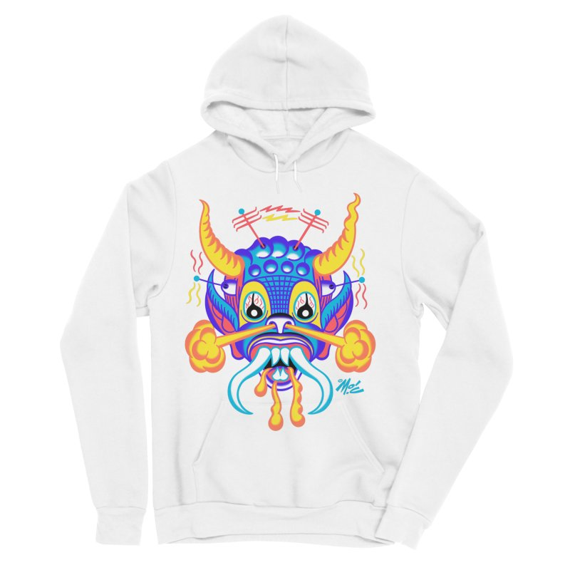 """'Leave it to Beaver' Monster Shirt! """"Richard"""" version! Women's Sponge Fleece Pullover Hoody by Mitch O'Connell"""
