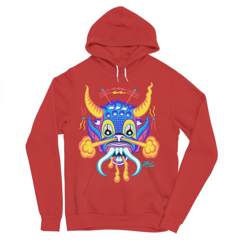 "'Leave it to Beaver' Monster Shirt! ""Richard"" version! Men's Sponge Fleece Pullover Hoody by Mitch O'Connell"