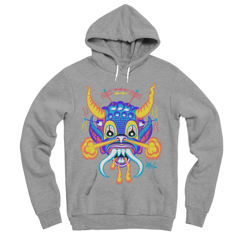"""'Leave it to Beaver' Monster Shirt! """"Richard"""" version! Men's Sponge Fleece Pullover Hoody by Mitch O'Connell"""