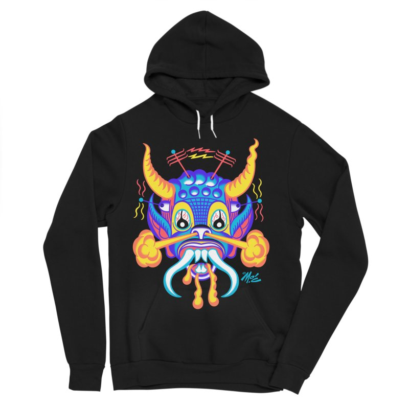 "'Leave it to Beaver' Monster Shirt! ""Richard"" version! Women's Sponge Fleece Pullover Hoody by Mitch O'Connell"
