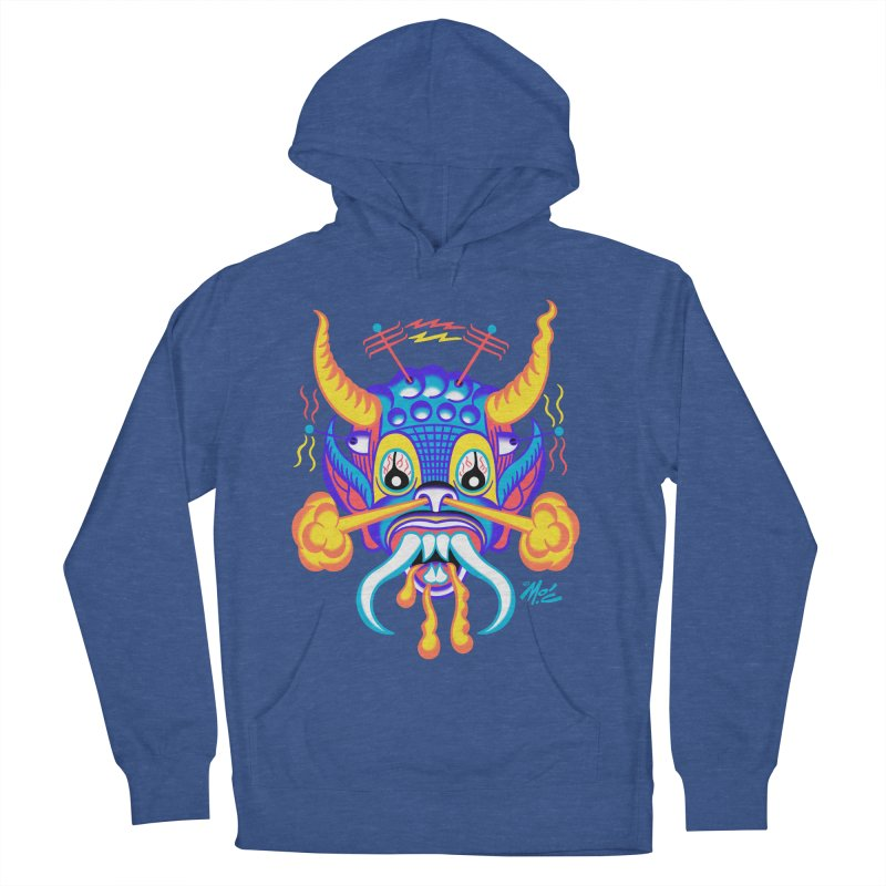 """'Leave it to Beaver' Monster Shirt! """"Richard"""" version! Women's French Terry Pullover Hoody by Mitch O'Connell"""