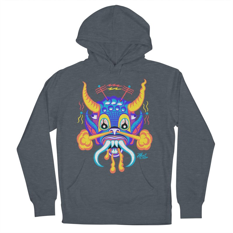 "'Leave it to Beaver' Monster Shirt! ""Richard"" version! Women's French Terry Pullover Hoody by Mitch O'Connell"