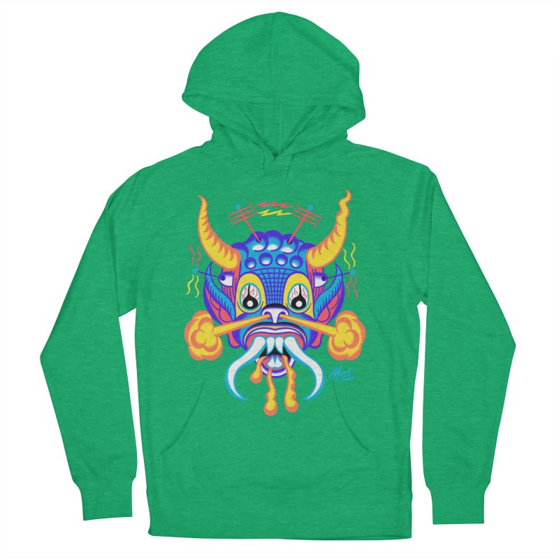 """'Leave it to Beaver' Monster Shirt! """"Richard"""" version! Men's French Terry Pullover Hoody by Mitch O'Connell"""