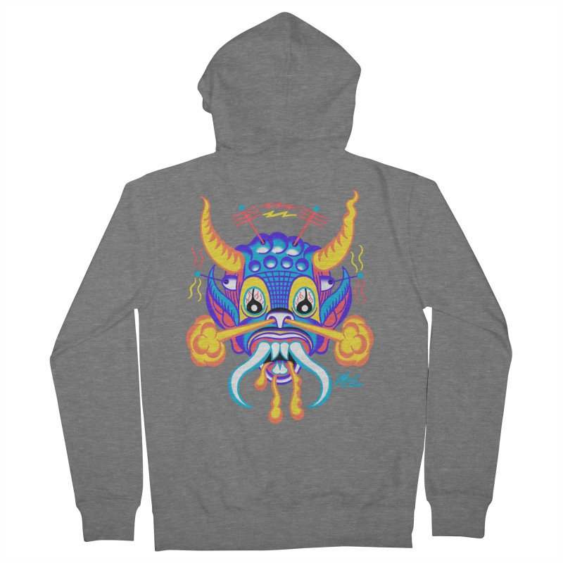 """'Leave it to Beaver' Monster Shirt! """"Richard"""" version! Women's French Terry Zip-Up Hoody by Mitch O'Connell"""