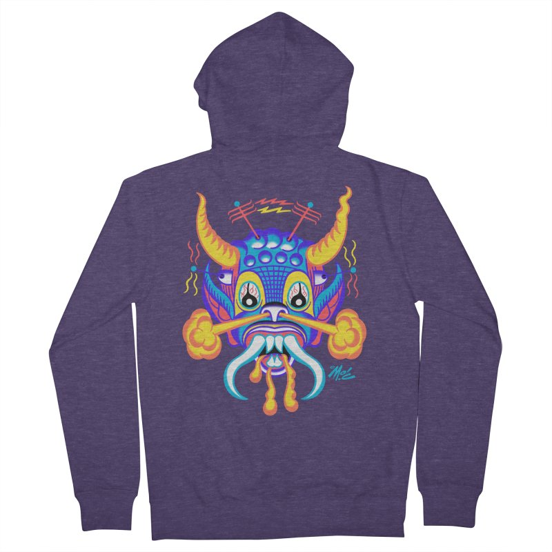 "'Leave it to Beaver' Monster Shirt! ""Richard"" version! Men's French Terry Zip-Up Hoody by Mitch O'Connell"