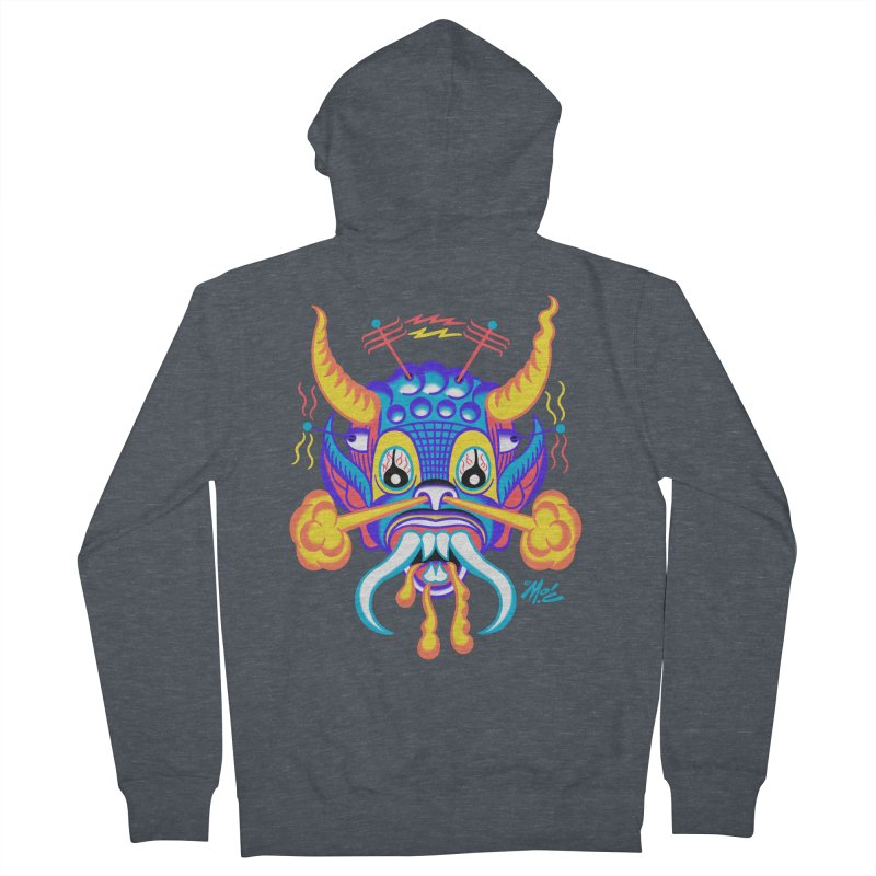 """'Leave it to Beaver' Monster Shirt! """"Richard"""" version! Men's French Terry Zip-Up Hoody by Mitch O'Connell"""