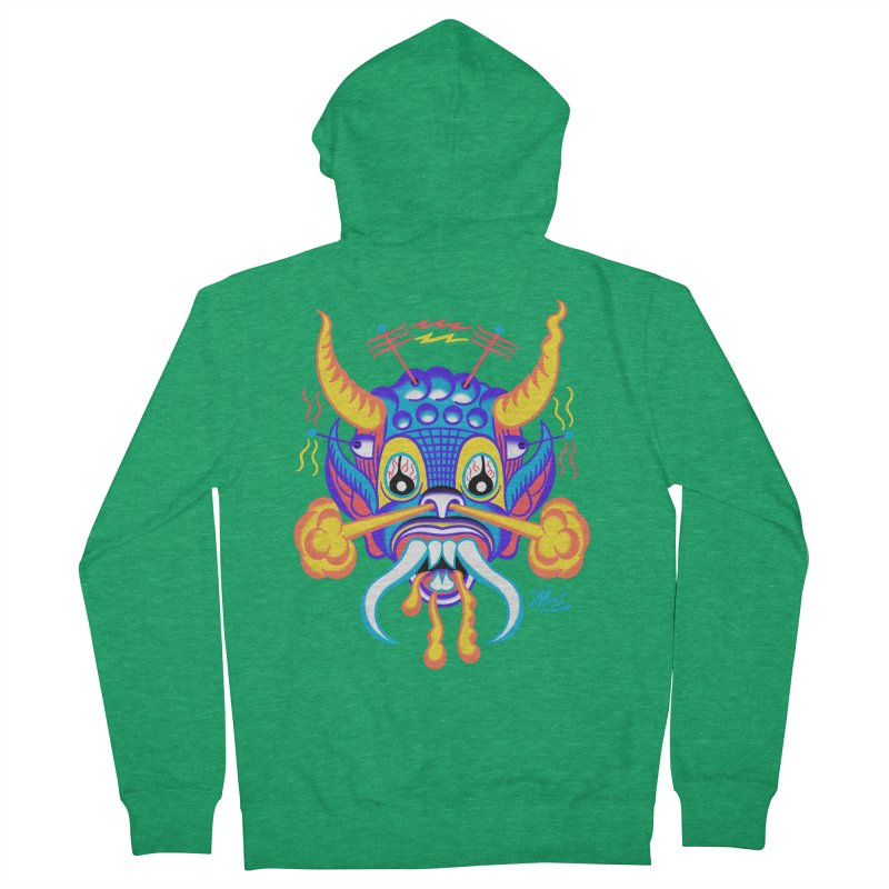 """'Leave it to Beaver' Monster Shirt! """"Richard"""" version! Men's Zip-Up Hoody by Mitch O'Connell"""