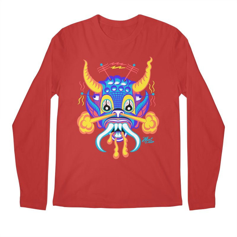 """'Leave it to Beaver' Monster Shirt! """"Richard"""" version! Men's Regular Longsleeve T-Shirt by Mitch O'Connell"""