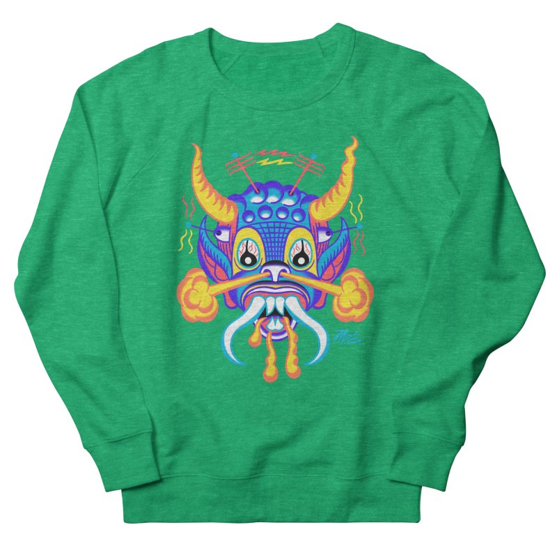 """'Leave it to Beaver' Monster Shirt! """"Richard"""" version! Women's Sweatshirt by Mitch O'Connell"""
