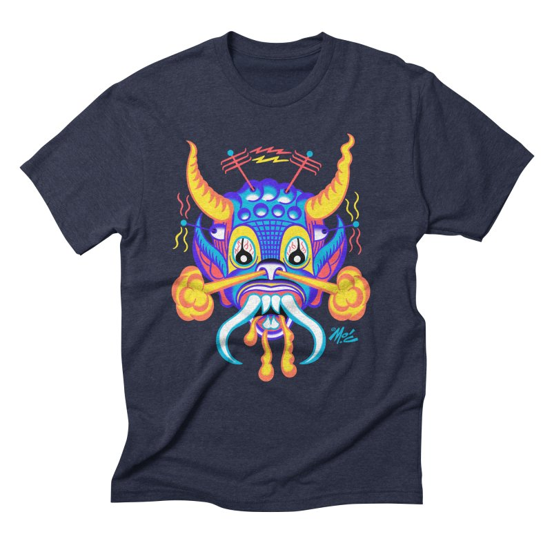 """'Leave it to Beaver' Monster Shirt! """"Richard"""" version! Men's Triblend T-Shirt by Mitch O'Connell"""