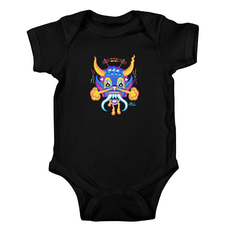 """'Leave it to Beaver' Monster Shirt! """"Richard"""" version! Kids Baby Bodysuit by Mitch O'Connell"""