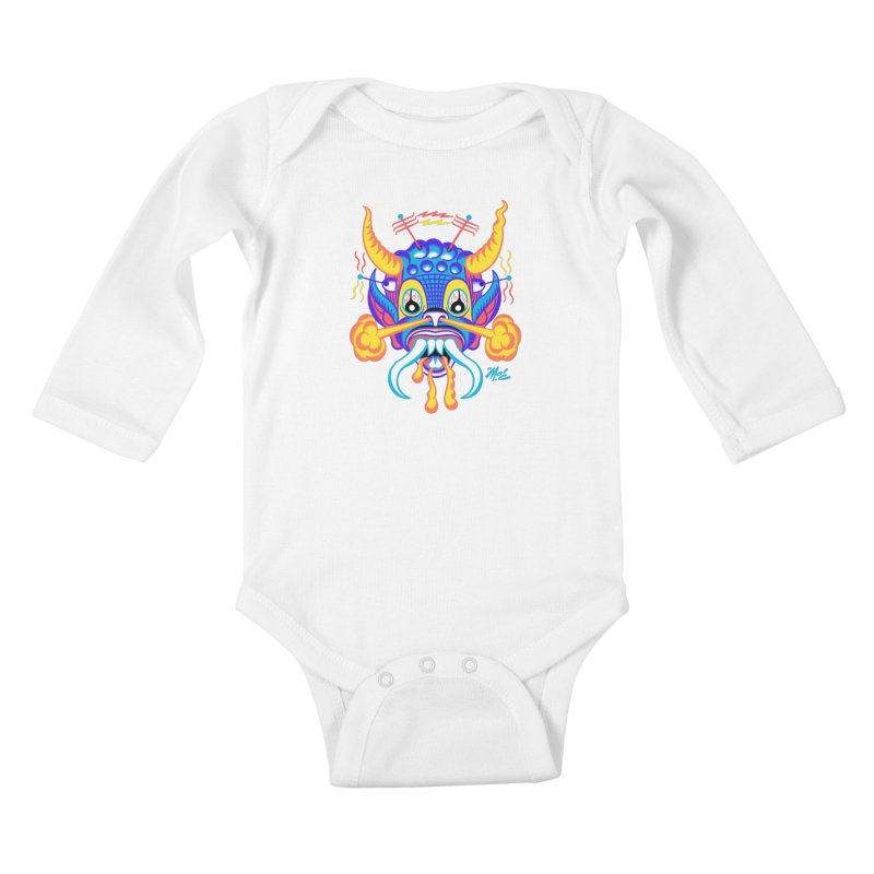 "'Leave it to Beaver' Monster Shirt! ""Richard"" version! Kids Baby Longsleeve Bodysuit by Mitch O'Connell"