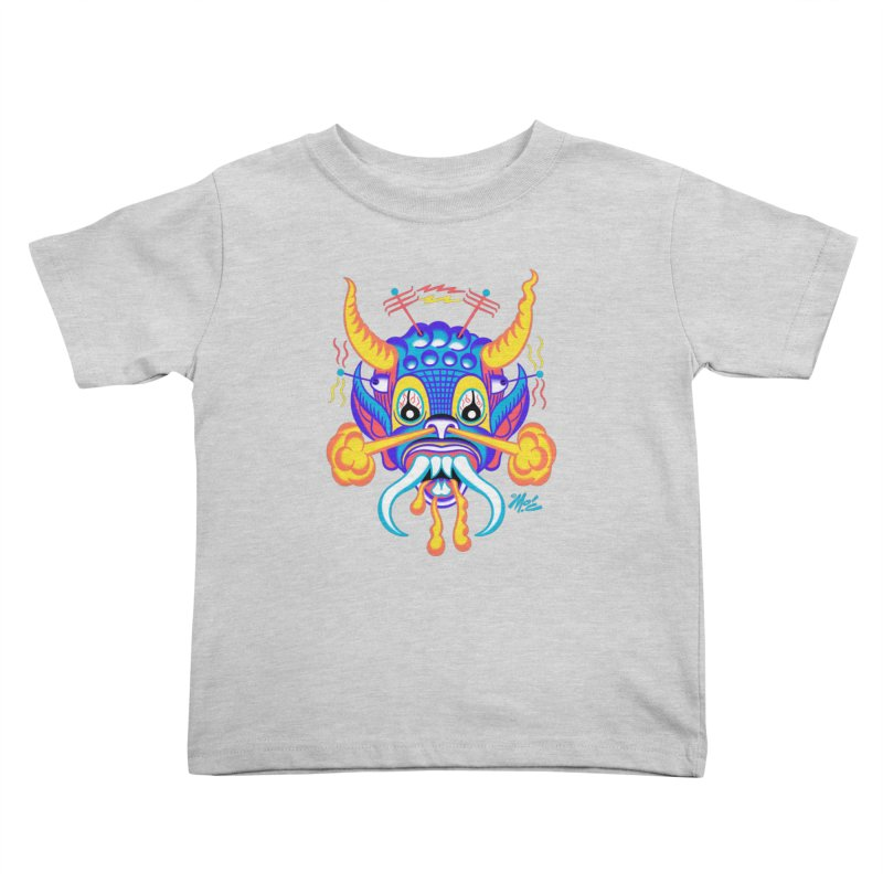 """'Leave it to Beaver' Monster Shirt! """"Richard"""" version! Kids Toddler T-Shirt by Mitch O'Connell"""