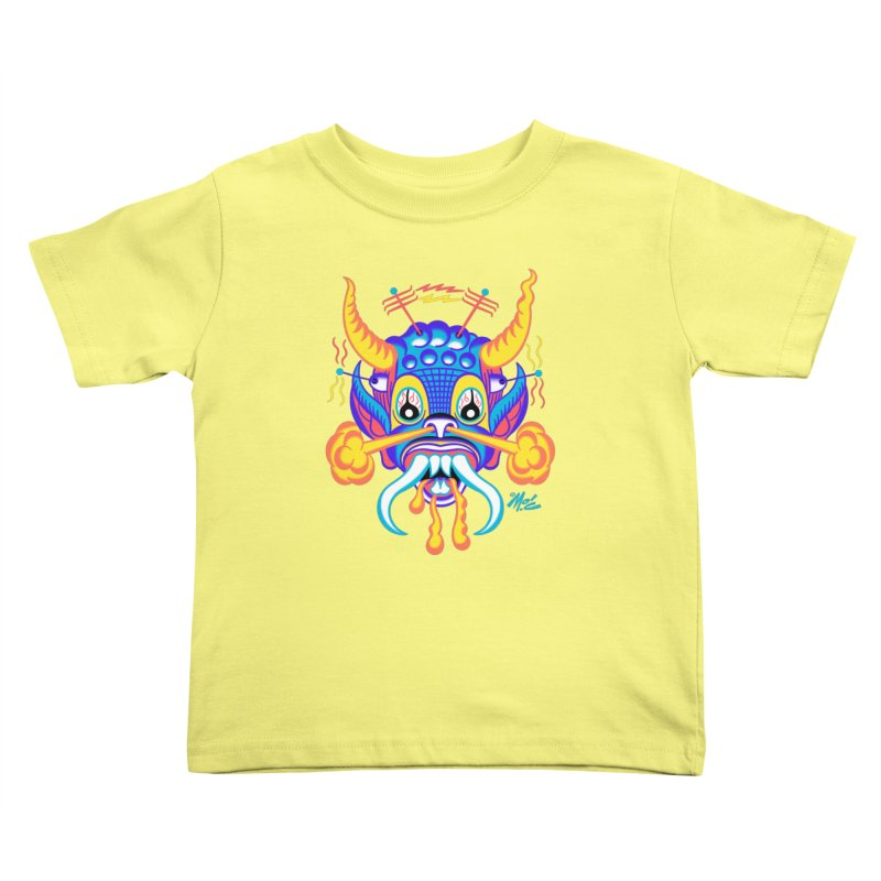 "'Leave it to Beaver' Monster Shirt! ""Richard"" version! Kids Toddler T-Shirt by Mitch O'Connell"