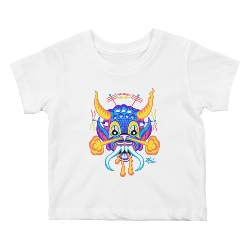 "'Leave it to Beaver' Monster Shirt! ""Richard"" version! Kids Baby T-Shirt by Mitch O'Connell"