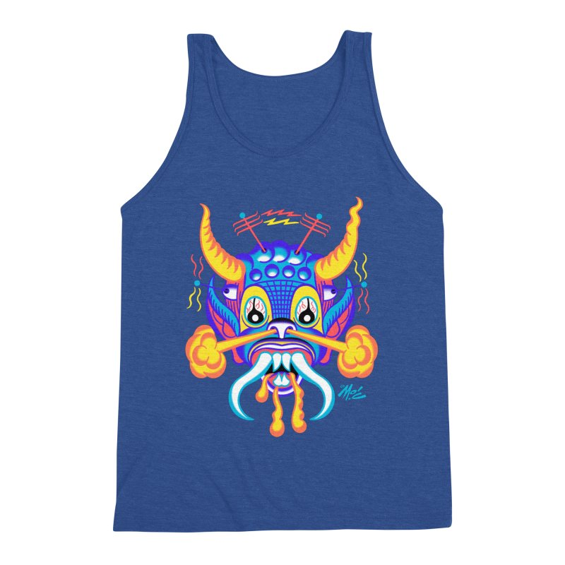 "'Leave it to Beaver' Monster Shirt! ""Richard"" version! Men's Triblend Tank by Mitch O'Connell"