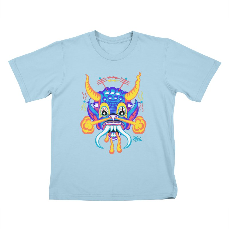 """'Leave it to Beaver' Monster Shirt! """"Richard"""" version! Kids T-Shirt by Mitch O'Connell"""