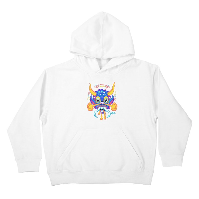 """'Leave it to Beaver' Monster Shirt! """"Richard"""" version! Kids Pullover Hoody by Mitch O'Connell"""