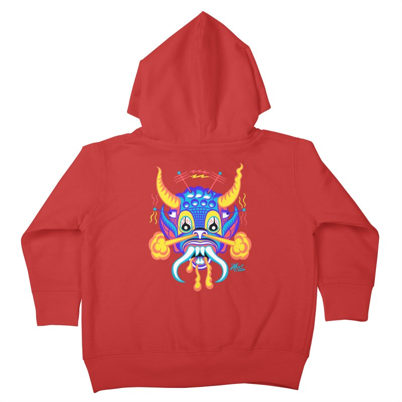"""'Leave it to Beaver' Monster Shirt! """"Richard"""" version! Kids Toddler Zip-Up Hoody by Mitch O'Connell"""