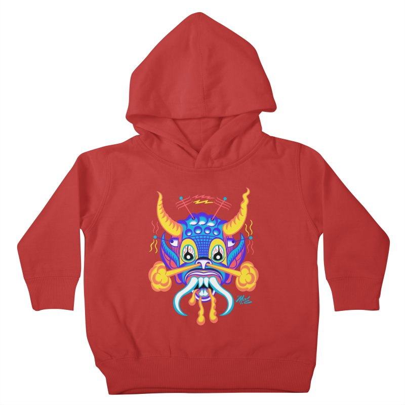 "'Leave it to Beaver' Monster Shirt! ""Richard"" version! Kids Toddler Pullover Hoody by Mitch O'Connell"