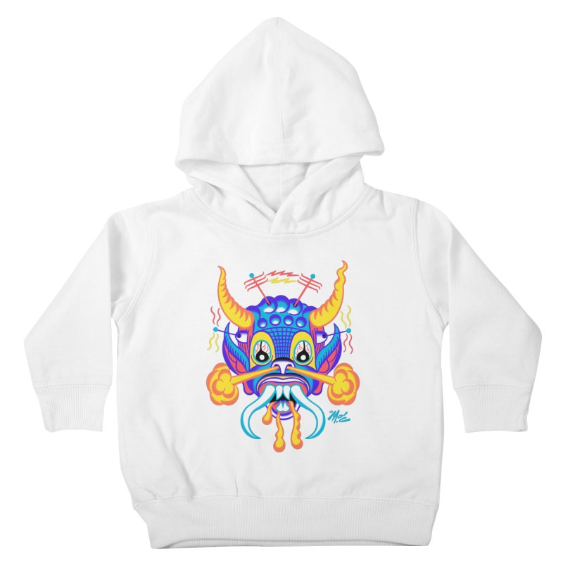 """'Leave it to Beaver' Monster Shirt! """"Richard"""" version! Kids Toddler Pullover Hoody by Mitch O'Connell"""