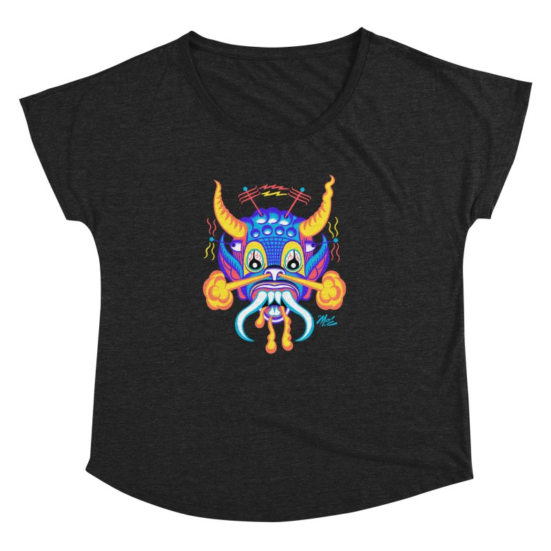 """'Leave it to Beaver' Monster Shirt! """"Richard"""" version! Women's Dolman Scoop Neck by Mitch O'Connell"""