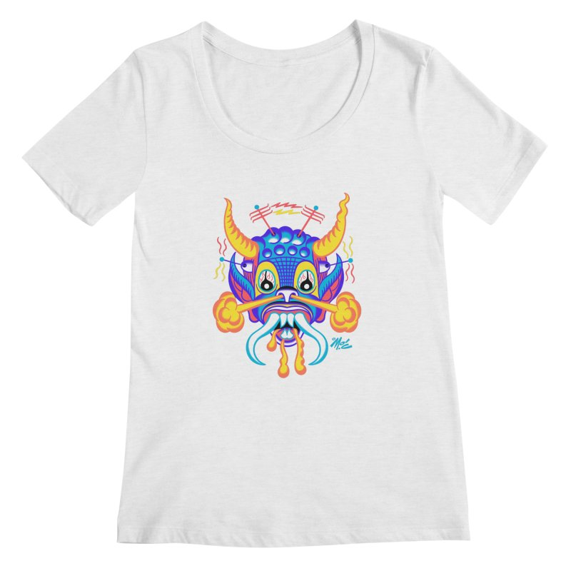 "'Leave it to Beaver' Monster Shirt! ""Richard"" version! Women's Regular Scoop Neck by Mitch O'Connell"