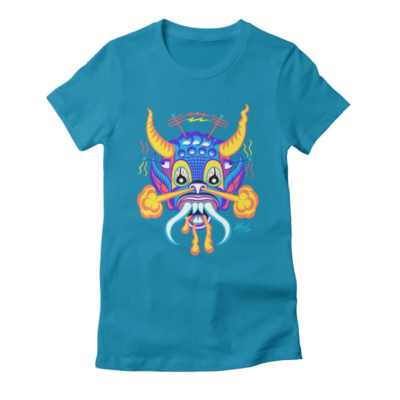"'Leave it to Beaver' Monster Shirt! ""Richard"" version! Women's Fitted T-Shirt by Mitch O'Connell"