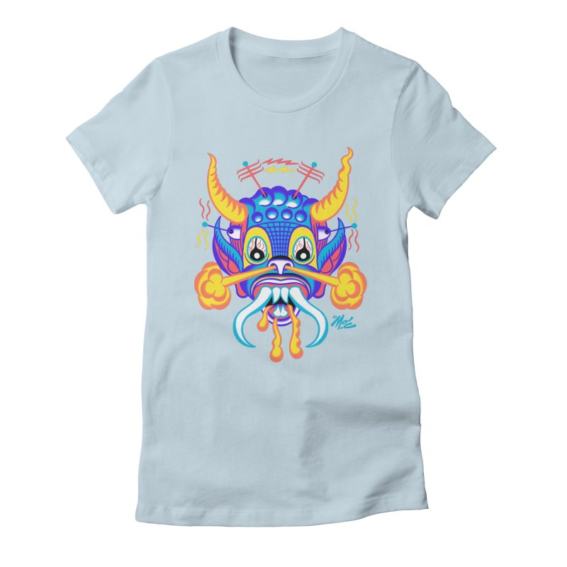 """'Leave it to Beaver' Monster Shirt! """"Richard"""" version! Women's Fitted T-Shirt by Mitch O'Connell"""