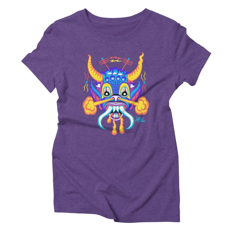 """'Leave it to Beaver' Monster Shirt! """"Richard"""" version! Women's Triblend T-Shirt by Mitch O'Connell"""
