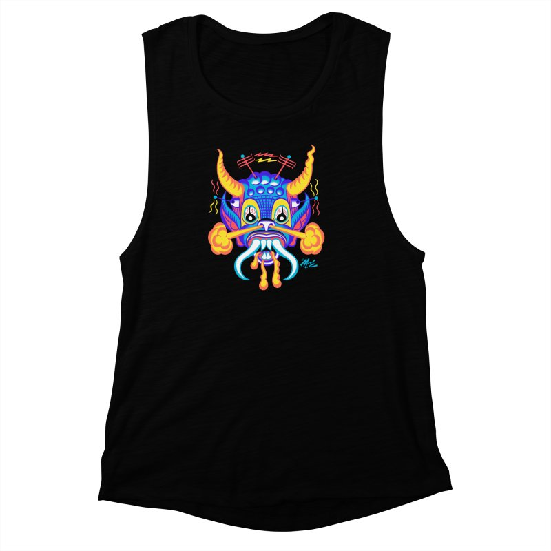 """'Leave it to Beaver' Monster Shirt! """"Richard"""" version! Women's Muscle Tank by Mitch O'Connell"""