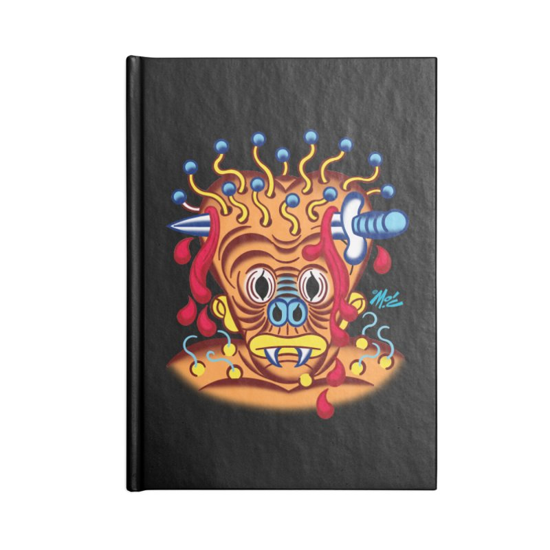 """'Leave it to Beaver' Monster Shirt! """"Whitey"""" version! Accessories Lined Journal Notebook by Mitch O'Connell"""