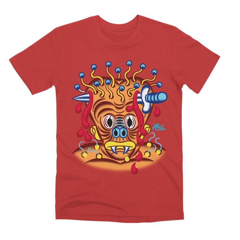 """'Leave it to Beaver' Monster Shirt! """"Whitey"""" version! Men's Premium T-Shirt by Mitch O'Connell"""