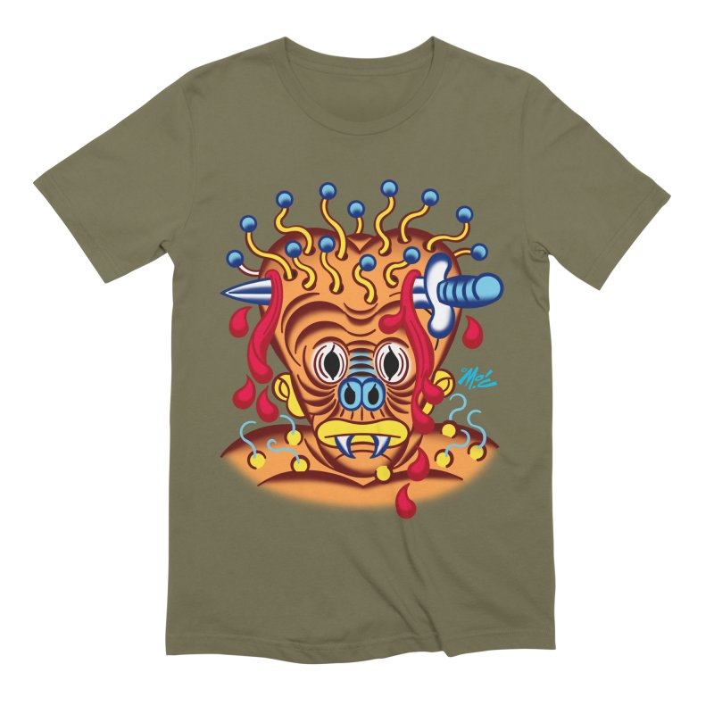 """'Leave it to Beaver' Monster Shirt! """"Whitey"""" version! Men's Extra Soft T-Shirt by Mitch O'Connell"""