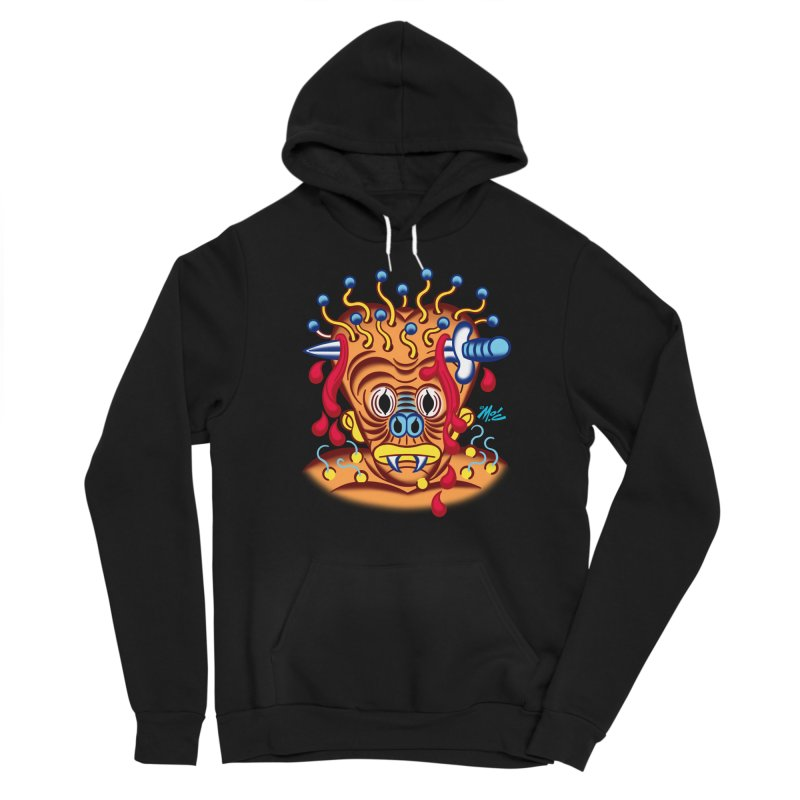 """'Leave it to Beaver' Monster Shirt! """"Whitey"""" version! Women's Sponge Fleece Pullover Hoody by Mitch O'Connell"""