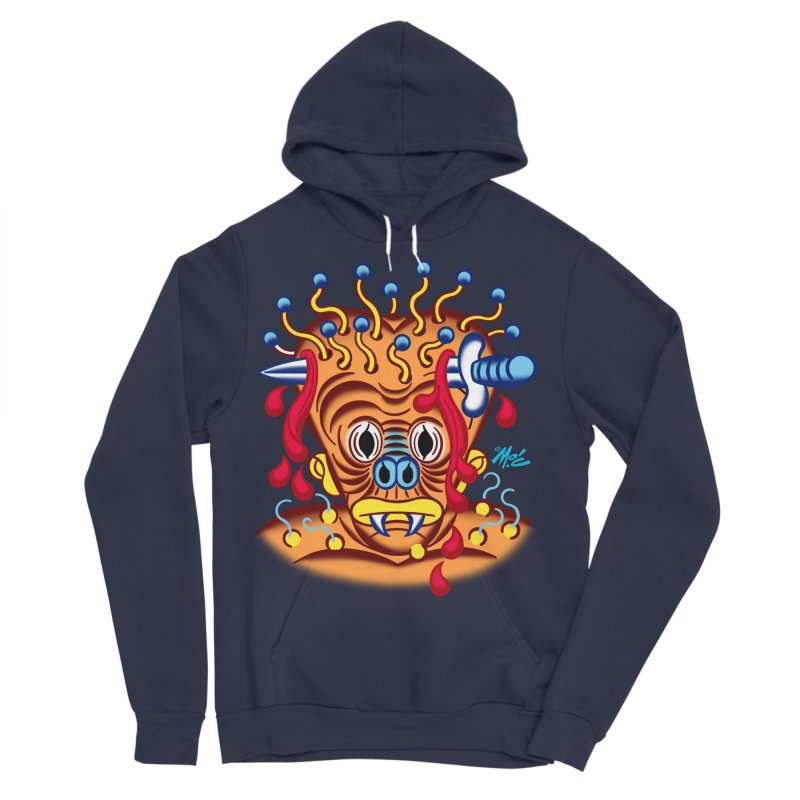"'Leave it to Beaver' Monster Shirt! ""Whitey"" version! Men's Sponge Fleece Pullover Hoody by Mitch O'Connell"