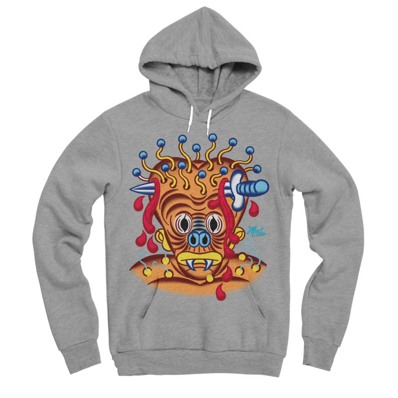 "'Leave it to Beaver' Monster Shirt! ""Whitey"" version! Women's Sponge Fleece Pullover Hoody by Mitch O'Connell"